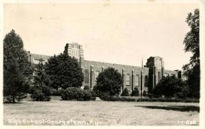 KY - Georgetown. High School - RPPC