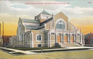 INDIANAPOLIS, Indiana, PU-1909; First Presbyterian Church