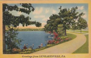 Pennsylvania Greetings From Lenhartsville