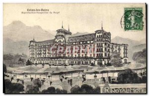 Old Postcard Evian les Bains Perspection Reproduction Project