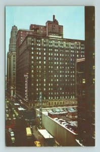 Sherman Hotel Randolph ST Chicago Illinois Postcard