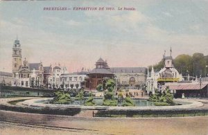 Exposition Universelle Bruxelles 1910 Le Bassin