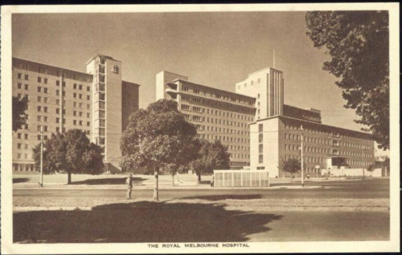 australia, MELBOURNE, Royal Melbourne Hospital (1930s)