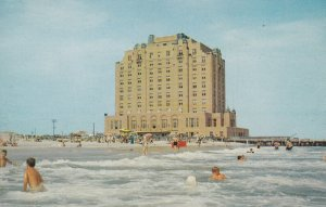 BRIGANTINE, New Jersey, 1950-1960's; The Brigantine Hotel At The Ocean's Edge