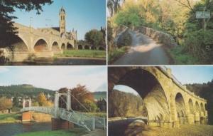 Peebles Bridges 1994 Scottish Civic Society Postcard