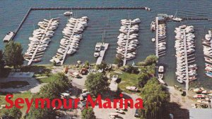 [BC} Seymour Marina , On Okanagan Lake , VERNON , B.C. , Canada , 50-60s