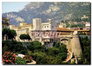 Modern Postcard Principality of Monaco The Prince's Palace
