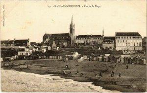 CPA St-QUAY-PORTRIEUX - Vue de la Plage (103524)