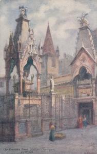 VERONA , Italy , 1900-10s ; Can Grande's tomb , Scaligeri Church Yar , TUCK 7990
