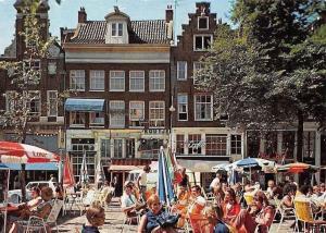 Netherlands Amsterdam Leidseplein Street Shops Terrace