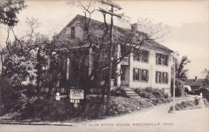 Ohio Brecksville Ye Olde Stage House