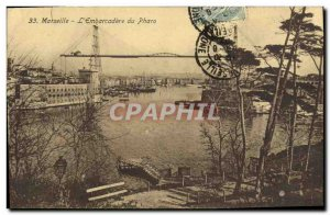 Old Postcard Marseille L Embarcadere Pharo