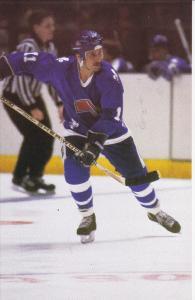 QUEBEC CITY, Quebec, Canada, 1970´s; Hockey Player, Les Nordiques, Andre Savard