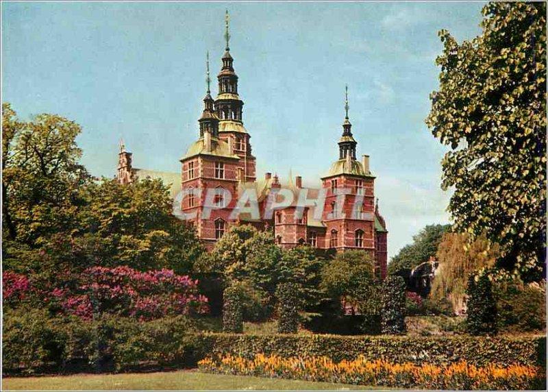 Postcard Modern Rosenborg Castle Copenhagen Rosenborg Set Fra Kongens Have