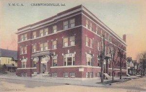 Indiana Crawfordville Y M C A Building Albertype