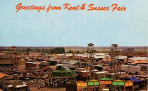 DE - Harrington. Kent & Sussex Fair Amusement Area