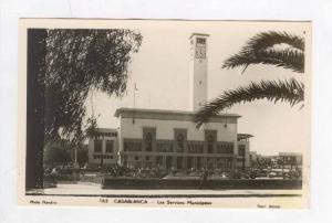 RP  Casablanca, Morocco, Les Services Municipaux, 20-40s