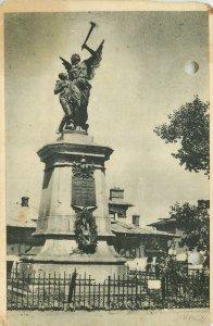 Vedere black Bucuresti monumentul Pompierilor din Dealul Spirii