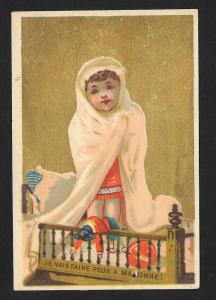 VICTORIAN TRADE CARD HD Barto Berlin Sherbet