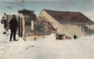 LP09  Alaska  Thompson Pass Summit Roadhouse Postcard