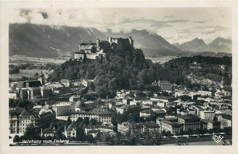 Austria Salzburg panorama feldpost foto postkarte
