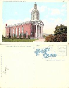 Masonic Home Chapel, Utica, New York