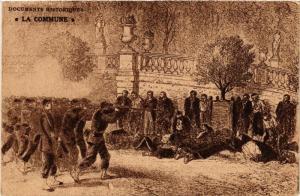 CPA PARIS La Commune Exécution en masse (305530)