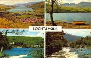 Lochtayside Kenmore Village River Dochart Ben Lawers Postcard