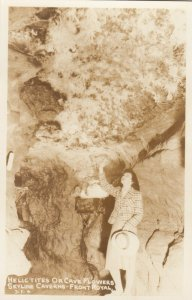 RP: FRONT ROYAL , Virginia , 1930-40s ; Cave Flowers, Skyline Caverns