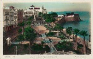 RP: CADEZ , Spain , PU-1935 ; Alameda Del Marques De Comillas