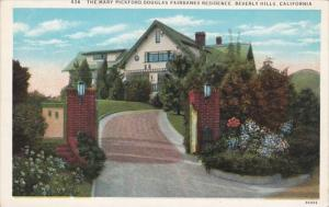 California Beverly Hills The Mary Pickford Douglas Fairbanks Residence