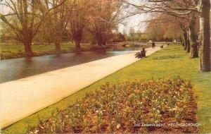 Postcard England Wellingborough, Northamptonshire the embankment