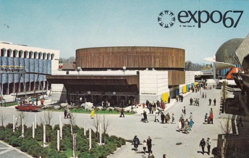 MONTREAL , Quebec, Canada, EXPO67 ; Telephone Association of Canada Pavilion