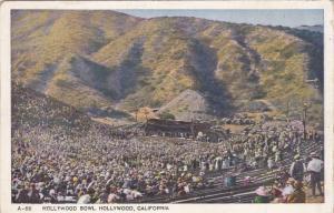 HOLLYWOOD, California, 1900-1910's; Hollywood Bowl