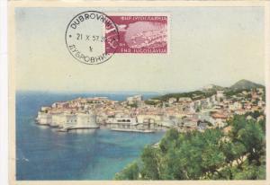 Panorama, DUBROVNIK, Croatia, PU-1957