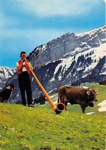 Alphornblaser 1973