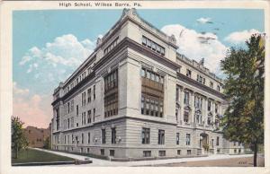 High School, WILKES BARRE, Pennsylvania, PU-1952