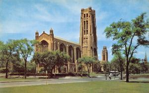 Chicago Illinois~Theological Seminary Rockefeller Memorial Chapel~1960 PC