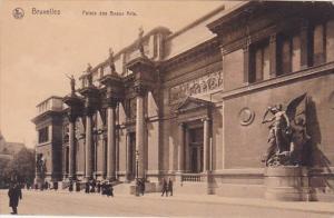 Belgium Brussells Bruxelles Palais Des Beaux Arts Museums