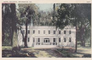 BRUNSWICK , Georgia , 10-30s ; Hotel Willetta