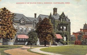 Cleveland Ohio~Mayor Tom L Johnson Euclid Avenue Mansion~Railway Inventor~1908