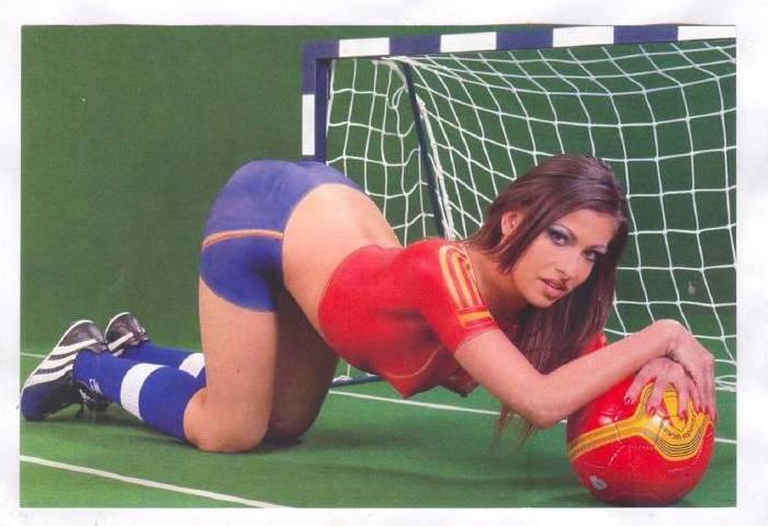 Soccer Body Painting Pics