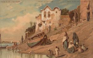 BENI-SOUEFF , EGYPT , 1901-07 : Banks of the Nile River