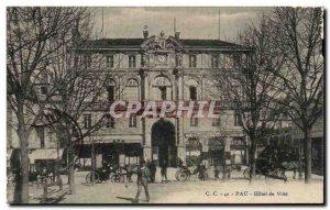 Postcard Pau Old City Hall