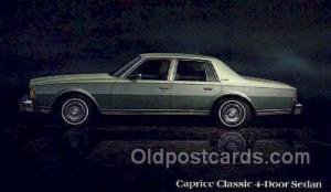 Caprice classic 4 door sedan Automotive, Car Vehicle, Old, Vintage, Antique P...