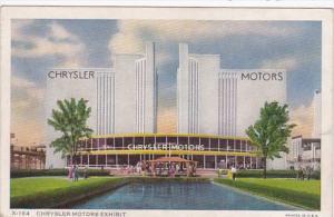 Chrysler Motors Exhibit Chicago World's Fair 1933 Curteich