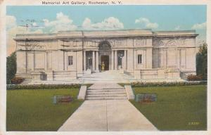 Entrance to Memorial Art Gallery - Rochester, New York - pm 1927 - WB