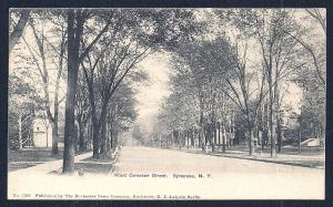 West Genesee Street Syracuse NY used c1905