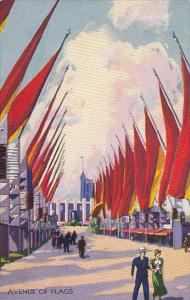 Avenue Of Flags Century Of Progress 1933 Chicago