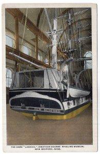 New Bedford, Mass, The Bark Lagoda, Jonathan Bourne Whaling Museum